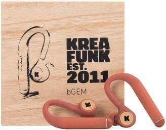 Kreafunk bGEM Bluetooth Wireless In-Ear Headphones - Soft Coral