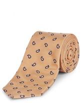 Jaeger Silk Mini Paisley Tie