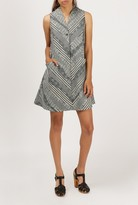 Azalea Ziggy Print Sleeveless Dress