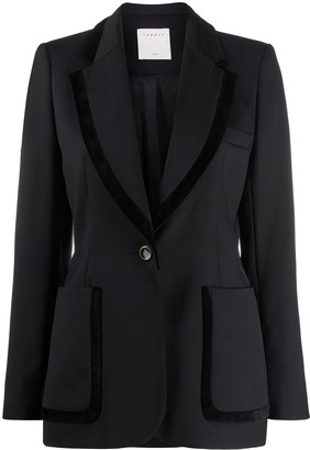 Sandro Single Breasted Tailored Blazer