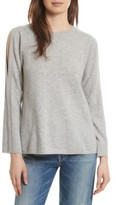 Joie Women's Amalyn Cold Shoulder Wool & Cashmere Sweater