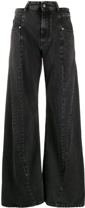 Maison Margiela Decortique wide-leg jeans