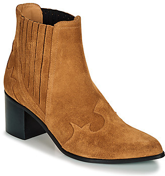 Emma.Go Emma Go BROOKLYN women's Low Ankle Boots in Brown