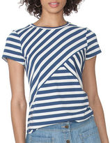 Chaps Petite Striped Jersey Shirt
