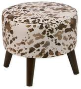 Skyline Furniture Ottoman in Cow Cream