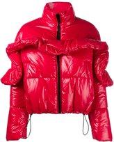 MSGM drawstring puffer jacket