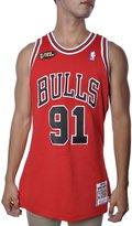 Mitchell & Ness Dennis Rodman 1997-98 Authentic Chicago Bulls NBA Finals Mitchell and Ness Jersey (XL)