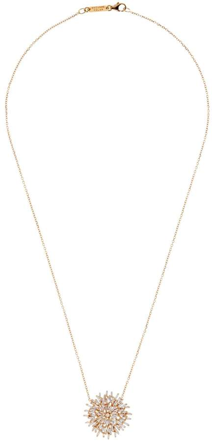Suzanne Kalan Gold Diamond Burst Necklace
