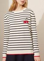 Chinti \u0026 parker Chinti & Parker Cherry Breton Sweater Cream Stripe