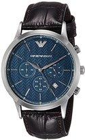 Emporio Armani Men's AR2494 Dress Brown Leather Watch