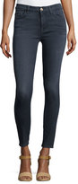 7 For All Mankind High-Waist Ankle Skinny Jeans, Bastille