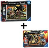 Ravensburger How to Train Your Dragon Puzzle - Twin Pack
