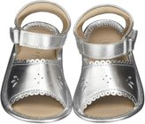 Elephantito The Baby Sandal (Infant) - Silver - 4 Infant
