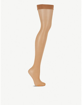 Wolford Individual 10 stay-up stockings