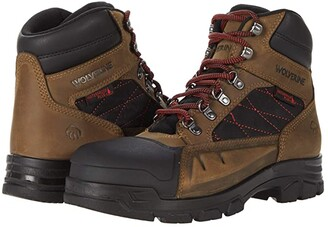 Wolverine Chainhand Defender Steel-Toe 6 Boot (Brown) Men's Shoes