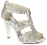 Silver T Strap Heels - ShopStyle