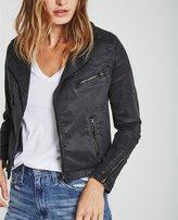 AG Jeans The Vintage Leatherette Biker Jacket
