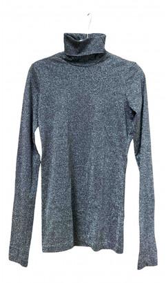 Dolce & Gabbana Silver Cotton Knitwear