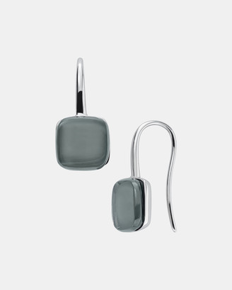 Skagen Sea Glass Silver-Tone Earrings