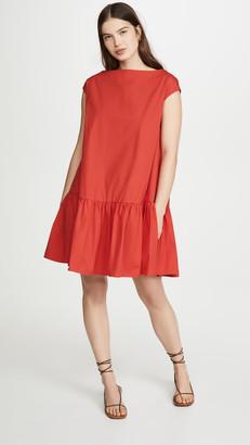 Mansur Gavriel Ruched Mini Dress