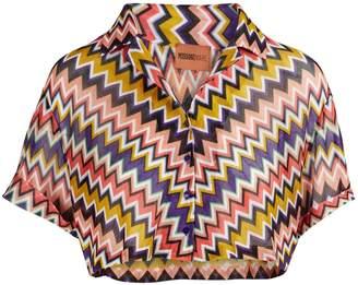 Missoni Zig Zag cropped shirt