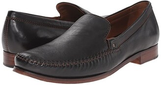 Trask Seth (Cognac Sheepskin) Men's Slip-on Dress Shoes