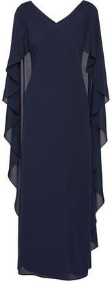 Gina Bacconi Bellerose Dress With Cape