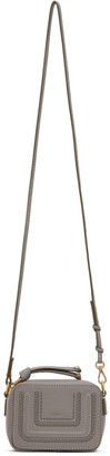 Chloé Grey Mini Marcie Shoulder Bag