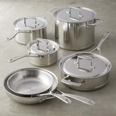 KitchenAid 7-Ply Stainless-Steel with Copper Core 10-Piece Cookware Set