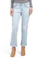 Peyton Destructed Slim Boyfriend Jeans