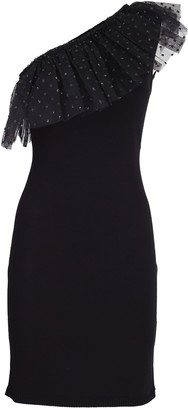 RED Valentino stretch viscose sheath dress