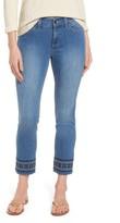 NYDJ Women's Sheri Embroidered Stretch Slim Crop Jeans