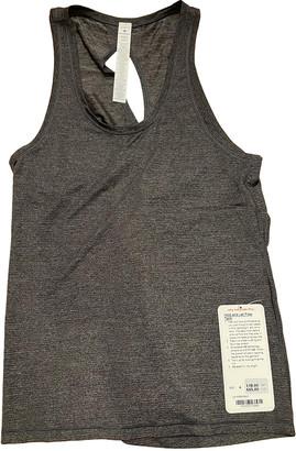 Lululemon Grey Polyester Tops