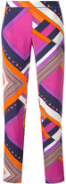 Roseanna geometric trousers - women - Silk - 38
