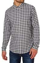 RVCA Shirts Hayes Flannel Shirt - Antique White
