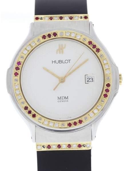 Hublot MDM Classic 1521.2 18K Yellow Gold / Stainless Steel 36mm Unisex Watch