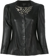 Isabel Marant fitted leather jacket