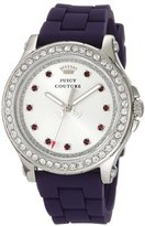 Juicy Couture Women's 1901067 Pedigree Purple Silicone Strap Watch