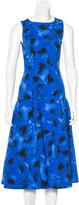 Michael Kors Sleeveless Abstract Print Dress w/ Tags