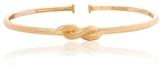 David Webb Hammered Gold Twisted Nail Collar