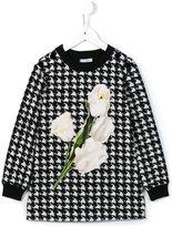 Dolce & Gabbana tulip patch dress