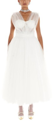 Dolce & Gabbana Draped Ball Gown