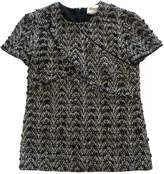 Chanel Grey Tweed Top for Women