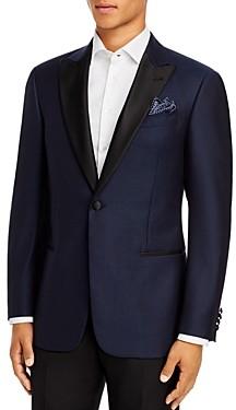 Giorgio Armani Emporio Satin-Lapel Regular Fit Blazer