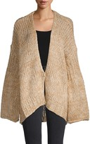 Free People Home Town Oversized Cardigan Sweater