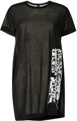 Y's floral print T-shirt