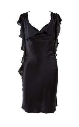 L'Agence \N Black Silk Dresses