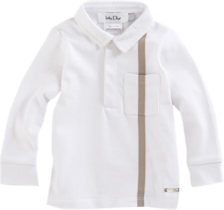 Christian Dior Long Sleeve Polo Shirt