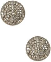 ADORNIA Imogen Champagne Diamond Earrings - 1.00 ctw