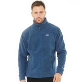 Trespass Mens Bernal Full Zip Fleece Jacket Navytone